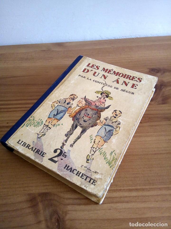Libros antiguos: LES MÉMOIRES D´ UN ÂNE. COMTESSE DE SEGUR. HACHETTE. 1930 - Foto 13 - 124458923