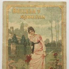 Libros antiguos: BELLEZA Y MODESTIA. - [CALLEJA, S.]. Lote 123263651