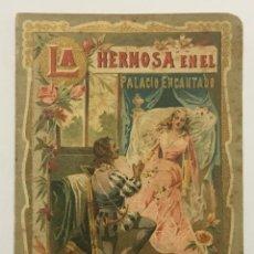 Libros antiguos: LA HERMOSA EN EL PALACIO ENCANTADO. - [CALLEJA, S.]. Lote 123263755