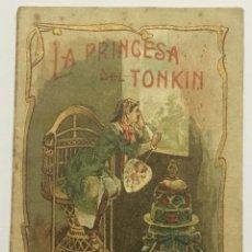 Libros antiguos: LA PRINCESA DEL TONKIN. - [CALLEJA, S.]. Lote 123263771