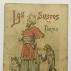 Libros antiguos: LOS SUSTOS DE PERICO. - [CALLEJA, S.]. Lote 123263799