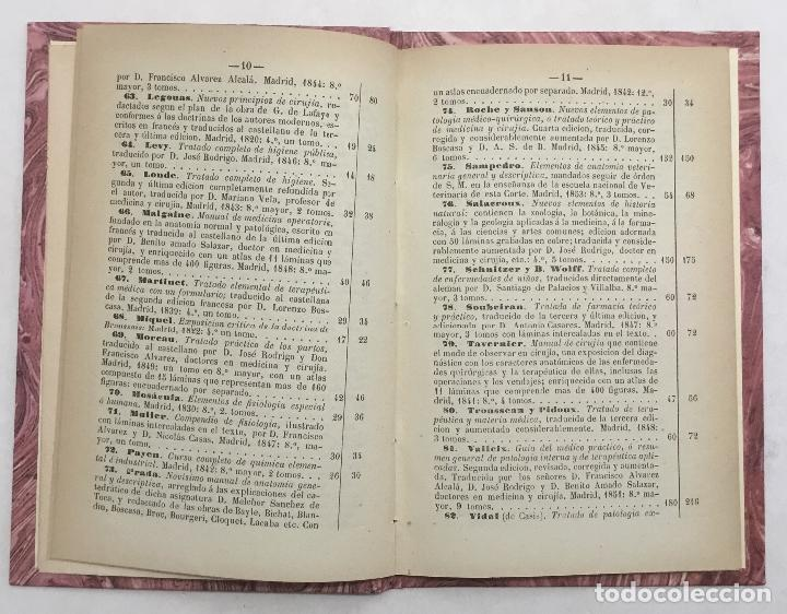 Libros antiguos: CATALOGO DE LOS LIBROS DE FONDO DE LA CASA DE D. ANGEL CALLEJA. - Foto 2 - 123140826
