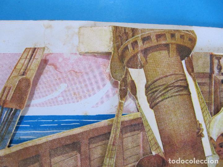 Libros antiguos: PETER PAN I WENDY. IL.LUSTRACIONS I ESCENES MOVILES D A. SALÓ. CONTES ANIMATS. EDITORIAL JOVENTUD, - Foto 7 - 124784035