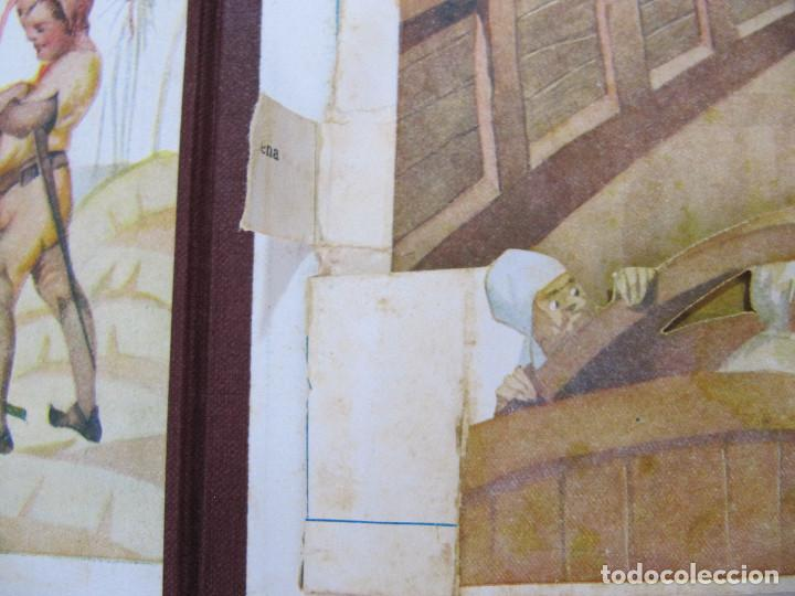 Libros antiguos: PETER PAN I WENDY. IL.LUSTRACIONS I ESCENES MOVILES D A. SALÓ. CONTES ANIMATS. EDITORIAL JOVENTUD, - Foto 8 - 124784035