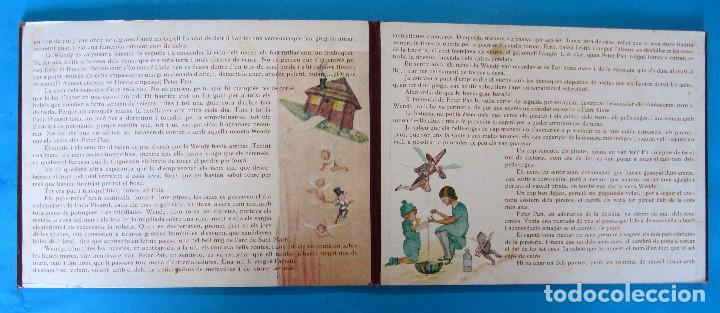 Libros antiguos: PETER PAN I WENDY. IL.LUSTRACIONS I ESCENES MOVILES D A. SALÓ. CONTES ANIMATS. EDITORIAL JOVENTUD, - Foto 10 - 124784035