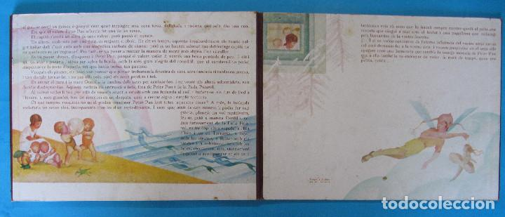 Libros antiguos: PETER PAN I WENDY. IL.LUSTRACIONS I ESCENES MOVILES D A. SALÓ. CONTES ANIMATS. EDITORIAL JOVENTUD, - Foto 11 - 124784035