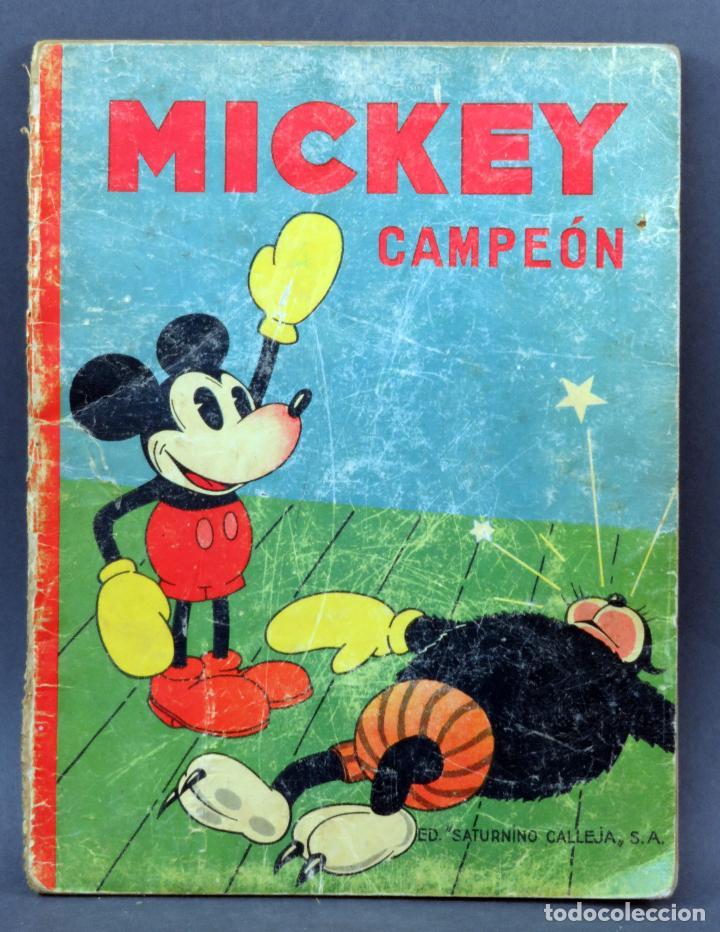 MICKEY CAMPEÓN CUENTO SATURNINO CALLEJA 1935 (Libros Antiguos, Raros y Curiosos - Literatura Infantil y Juvenil - Cuentos)