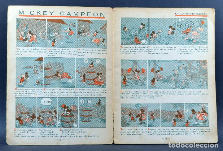 Libros antiguos: Mickey campeón cuento Saturnino Calleja 1935 - Foto 3 - 124882955