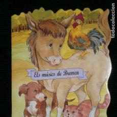 Libros antiguos: F1 CUENTO TROQUELADO ELS MUSICS DE BREMEN EDITORIAL COMBEL Nº 12 AÑO 2009 EN CATALAN. Lote 125261807