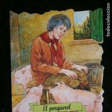 Libros antiguos: F1 CUENTO TROQUELADO EL PORQUEROL EDITORIAL COMBEL Nº 41 AÑO 2011 EN CATALAN. Lote 125270843