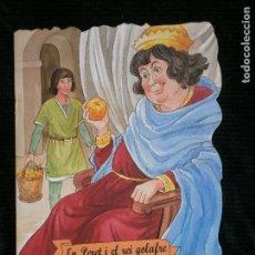 Libros antiguos: F1 CUENTO TROQUELADO EN PERET I EL REI GOLAFRE EDITORIAL COMBEL Nº 36 AÑO 2010 EN CATALAN. Lote 125279035