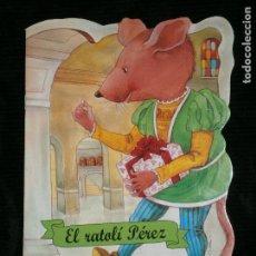 Libros antiguos: F1 CUENTO TROQUELADO EL RATOLI PEREZ EDITORIAL COMBEL Nº 22 AÑO 2010 EN CATALAN. Lote 125414683