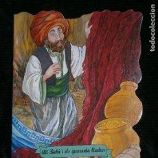 Libros antiguos: F1 CUENTO TROQUELADO ALI BABA I ELS QUARANTA LLADRES EDITORIALCOMBEL Nº 34 AÑO 2012 EN CATALAN. Lote 125415891