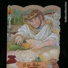 Libros antiguos: F1 CUENTO TROQUELADO EL REI MIDES EDITORIAL COMBEL Nº 37 AÑO 2008 EN CATALAN. Lote 125416543