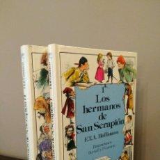 Libros antiguos: LOS HERMANOS DE SAN SERAPIÓN - VOLUMENES I-II - E.T.A. HOFFMANN - ANAYA-COLECCIÓN LAURIN. Lote 125449771