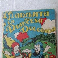 Libros antiguos: CUENTOS MOLINO , N.12 , MARUJITA Y LA PRINCESA DOLORIDA , JOSE MARIA HUERTAS VENTOSA 1935. Lote 125734651