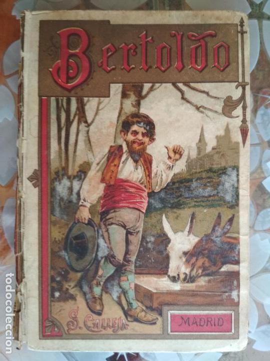 BERTOLDO-BERTOLDINO Y CACASENO, BIBLIOTECA ILUSTRADA Nº XXIII, SATURNINO CALLEJA (Libros Antiguos, Raros y Curiosos - Literatura Infantil y Juvenil - Cuentos)