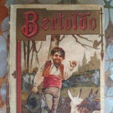 Libros antiguos: BERTOLDO-BERTOLDINO Y CACASENO, BIBLIOTECA ILUSTRADA Nº XXIII, SATURNINO CALLEJA. Lote 125833491