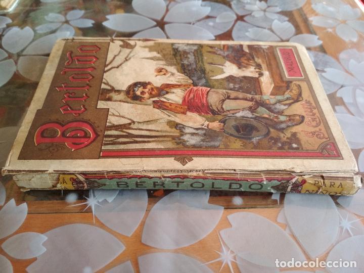 Libros antiguos: BERTOLDO-BERTOLDINO Y CACASENO, BIBLIOTECA ILUSTRADA Nº XXIII, SATURNINO CALLEJA - Foto 3 - 125833491