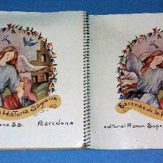 Libros antiguos: ESCENAS DE LA HISTORIA SAGRADA CUADERNO Nº 1 EDITORIAL RAMON SOPENA ORIGINAL. Lote 125959291