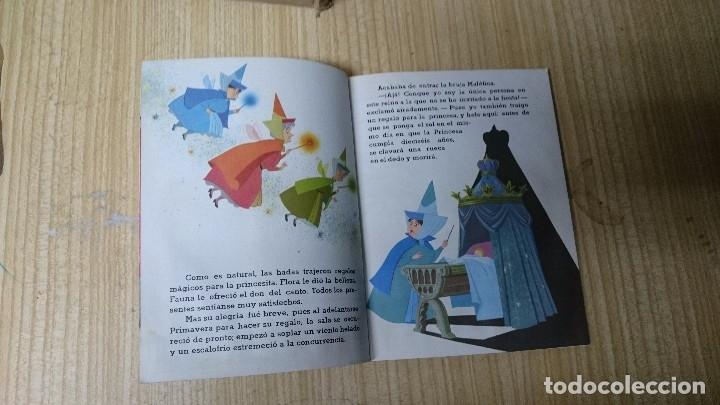 Libros antiguos: LIBRO LA BELLA DURMIENTE - WALT DISNEY- PEQUEÑO LIBRO DORADO - Foto 5 - 35166371