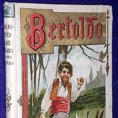 Libros antiguos: BERTOLDO. BERTOLDINO Y CACASENO.. Lote 126073295