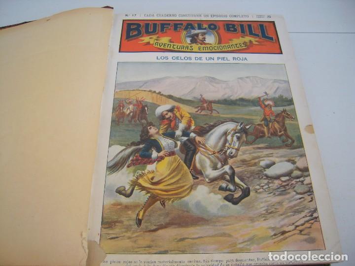 TOMO BUFFALO BILL AVENTURAS EMOCIONANTES 15 Nº (Libros Antiguos, Raros y Curiosos - Literatura Infantil y Juvenil - Cuentos)
