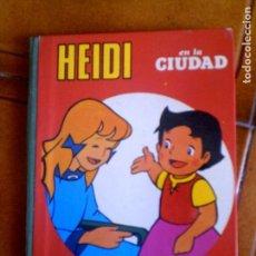 Libros antiguos: LIBRO DIORAMICO HEIDI EN LA CIUDAD AÑO 1976 ZUIYO VER FOTOS EXTRAS. Lote 126709455