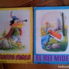 Libros antiguos: CUENTOS SERIE CASCAVELL N,6 Y 8 EDITORIAL ROMA 1967 ILUSTRADOS A COLOR. Lote 126725023