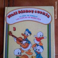 Libros antiguos: LIBRO DE CUENTOS WALT DISNEY CUENTA TAPA DURA AÑO 1980 76 PAGINAS. Lote 126725127