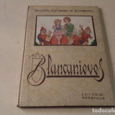 Libri antichi: BLANCA NIEVES - CUENTO ADAPTADO POR BLANCA CON 5 LÁMINAS DE MOVIMIENTO - EDITORIAL MARAVILLA. Lote 126889019