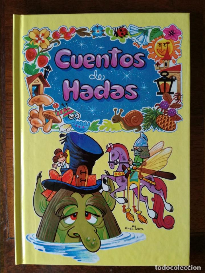 Libros antiguos: 4 libros 56 cuentos de hadas-1986 nuevos-Europa Ediciones 1-2-3-4 dibujos de Albarrán - Foto 7 - 193992601