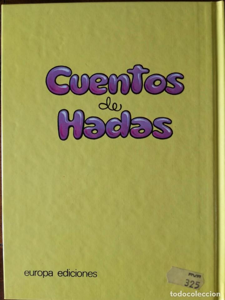 Libros antiguos: 4 libros 56 cuentos de hadas-1986 nuevos-Europa Ediciones 1-2-3-4 dibujos de Albarrán - Foto 10 - 193992601