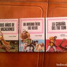 Libri antichi: LOTE DE LIBROS DE HISTORIAS INFANTIL DE BRUGUERA N,30,54,39,AÑO 1979. Lote 127479947