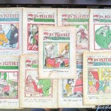 Libros antiguos: EN PATUFET. LOTE DE 10 REVISTAS. CATALÀ. REVISTA INFANTIL. AÑO 1938. Lote 127584367