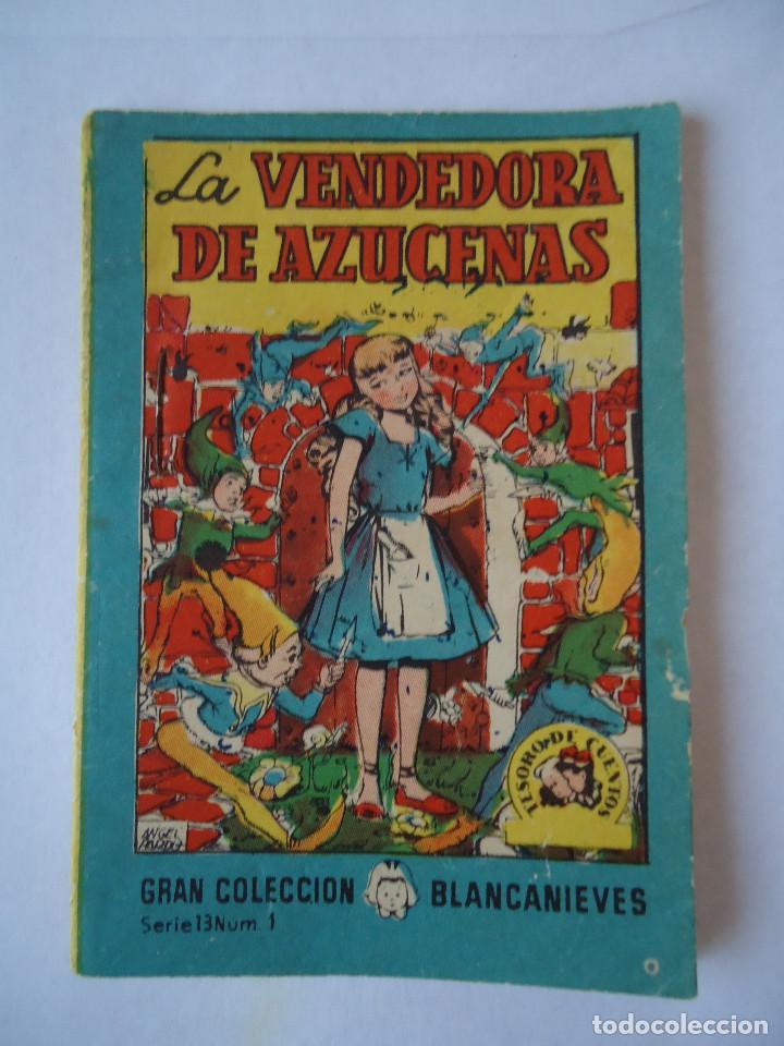 MINI CUENTO LA VENDEDORA DE AZUCENAS (Libros Antiguos, Raros y Curiosos - Literatura Infantil y Juvenil - Cuentos)