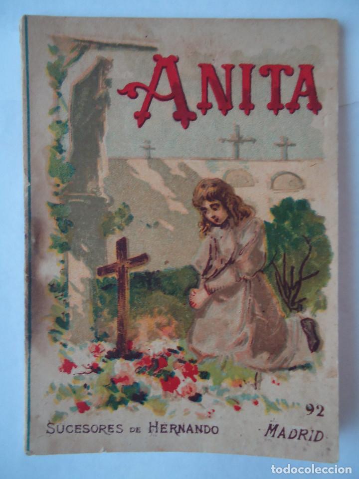 MINI CUENTO ANITA (Libros Antiguos, Raros y Curiosos - Literatura Infantil y Juvenil - Cuentos)