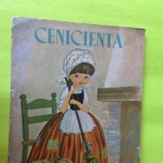 Libros antiguos: ANTIGUO CUENTO TROQUELADO DE LA CENICIENTA EDITORIAL ROMA AÑO 1.968. Lote 128304943