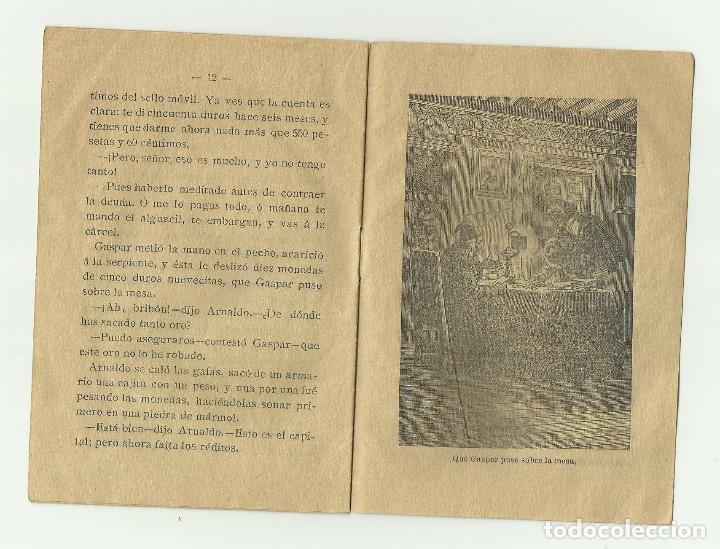 Libros antiguos: La Serpiente Agradec. Biblioteca de cuentos para niños. Casa editorial Saturnino Calleja Fernandez - Foto 5 - 128420983
