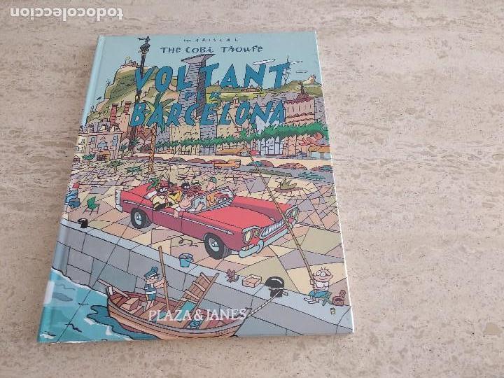 Libros antiguos: the cobi troupe. voltant per Barcelona. MARISCAL, libro sin estrenar, completamente nuevo - Foto 2 - 128525119