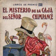 Libros antiguos: EL MISTERIO DE LA CAJA DEL SEÑOR CHIMPANCÉ (LIBROS DE PREMIO SOPENA, C. 1930). Lote 128700315