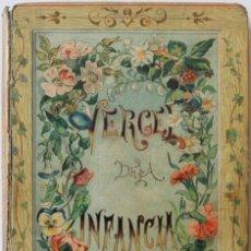 Libros antiguos: VERGEL DE LA INFANCIA. CUENTOS DE COLOR DE CIELO. - CEBALLOS QUINTANA, ENRIQUE.. Lote 123174152