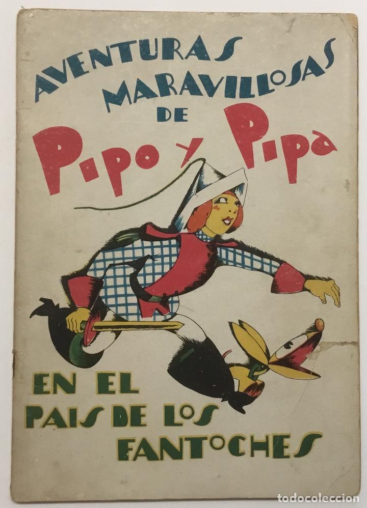 PIPO Y PIPA EN EL PAIS DE LOS FANTOCHES. - BARTOLOZZI, SALVADOR. RIVADENEYRA. (Libros Antiguos, Raros y Curiosos - Literatura Infantil y Juvenil - Cuentos)