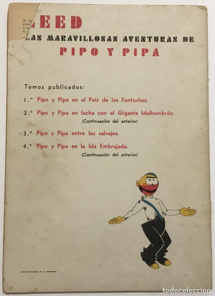 Libros antiguos: PIPO Y PIPA EN EL PAIS DE LOS FANTOCHES. - BARTOLOZZI, Salvador. RIVADENEYRA. - Foto 3 - 123162198