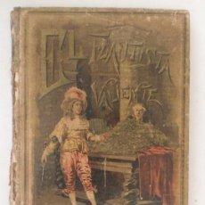 Libros antiguos: EL FLAUTÍSTA VALIENTE CUENTOS MORALES ILUSTRADOS POR MÉNDEZ BRINCAS Y M. ANGEL. 1893. Lote 128992823