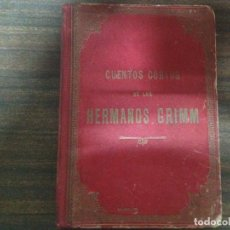 Livros antigos: ANTIGUO LIBRO CUENTOS CORTOS DE LOS HERMANOS GRIMM EN ESPAÑOL 1913. Lote 191710588