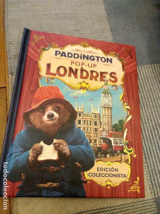 CUENTO POP-UP TRES DIMENSIONES PADDINGTON LONDRES,EDICION COLECCIONISTA (Libros Antiguos, Raros y Curiosos - Literatura Infantil y Juvenil - Cuentos)