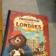 Libros antiguos: CUENTO POP-UP TRES DIMENSIONES PADDINGTON LONDRES,EDICION COLECCIONISTA. Lote 129474651