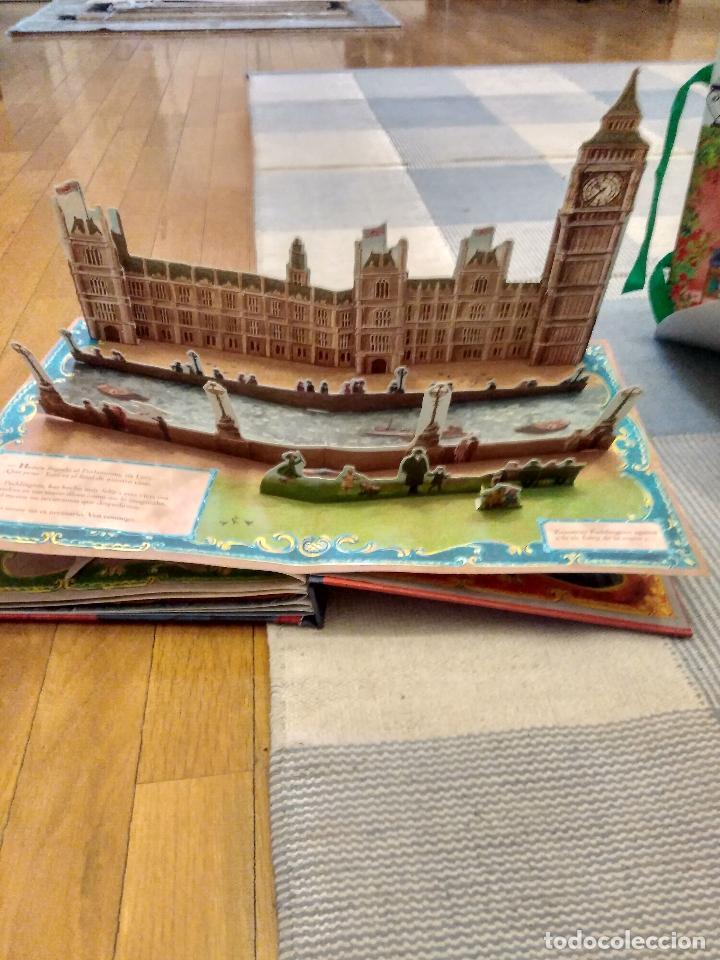 Libros antiguos: CUENTO POP-UP TRES DIMENSIONES PADDINGTON LONDRES,EDICION COLECCIONISTA - Foto 4 - 129474651