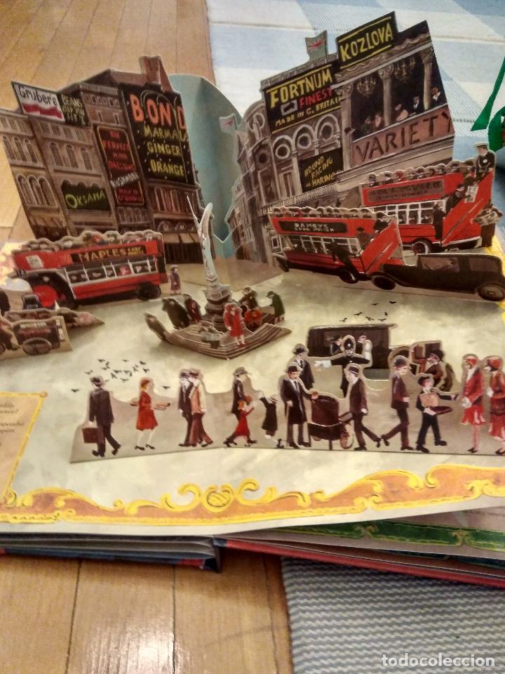 Libros antiguos: CUENTO POP-UP TRES DIMENSIONES PADDINGTON LONDRES,EDICION COLECCIONISTA - Foto 6 - 129474651